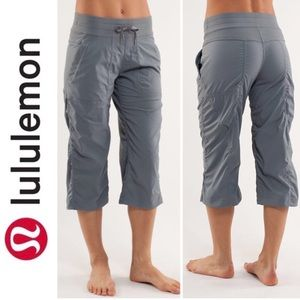 Lululemon Studio Crop Gray Pants